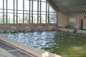"""Санаторий """"Северный"""", Заозерное; бассейн с минеральной водой"""