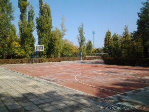 """Санаторий """"Северный"""", Заозерное; площадка для баскетбола"""