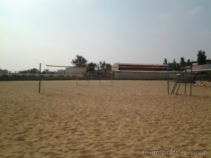 """Санаторий """"Северный"""", Заозерное; пляжный волейбол"""