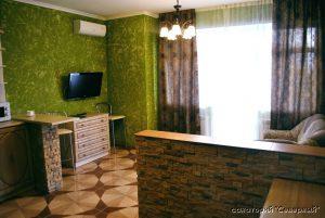 """Санаторий """"Северный"""", Заозерное; 2-комнатный комфорт, гостиная"""