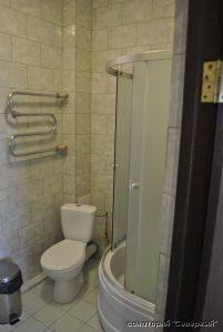 """Санаторий """"Северный"""", Заозерное; 2-комнатный комфорт, ванная"""