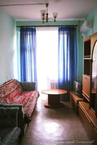 """Санаторий """"Северный"""", Заозерное; 2-комнатный стандарт, гостиная"""