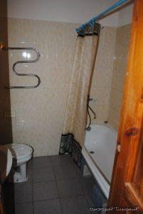 """Санаторий """"Северный"""", Заозерное; 2-комнатный стандарт, ванная комната"""
